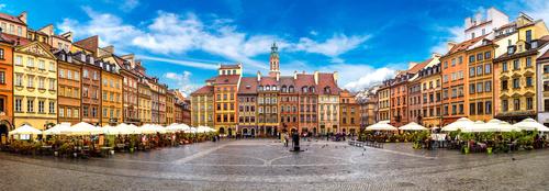 Fototapeta Warszawa plac