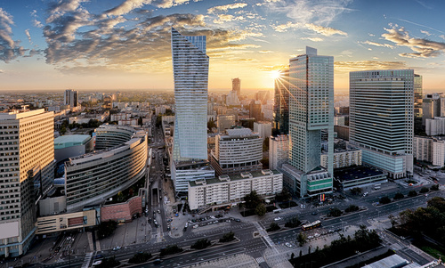 Warszawa fototapeta