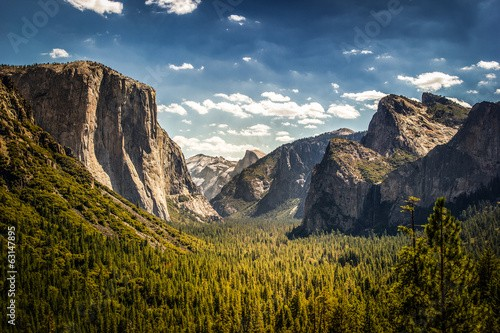 Park Narodowy Yosemite, Half Dome from Tunnel View