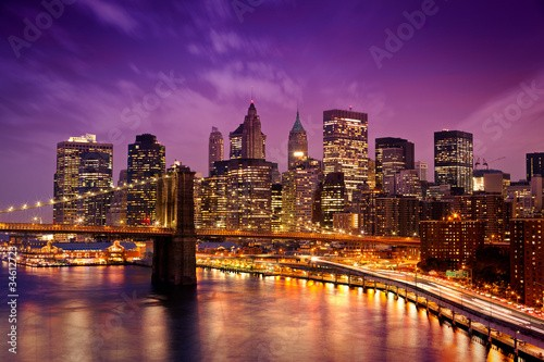 Nowy Jork Manhattan Pont de Brooklyn
